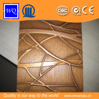 PVC Wall Panel/Embossed MDF Boards for Interior Decoration