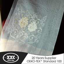 Lastest embroidery turkish curtain fabric european curtains