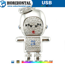Sweet design Crazy frog Robot USB flash drive bulk cheap