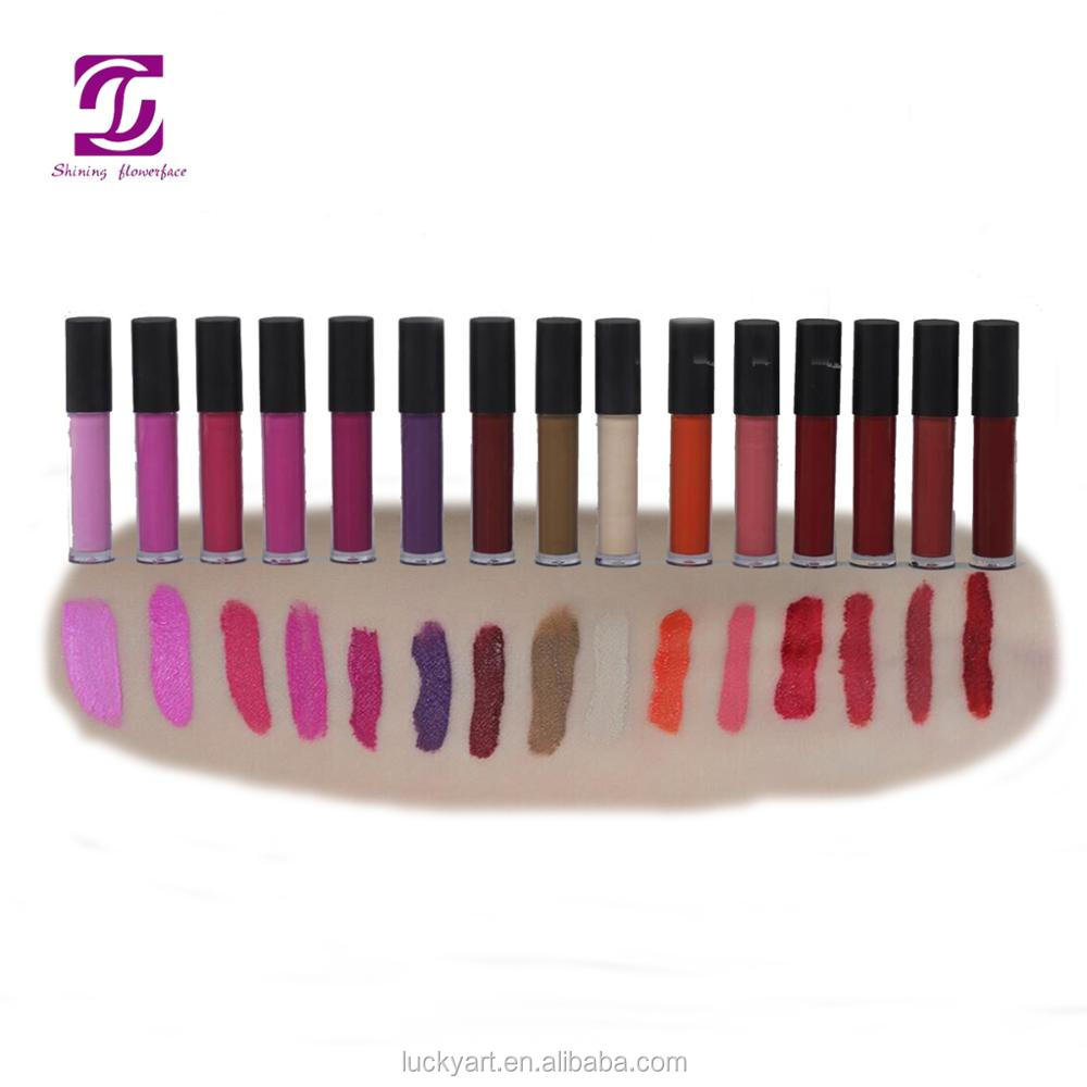 Cosmetic Manufacturers Private Label Lipstick Waterproof Matte Fashion Color High Quality Lipstick