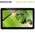 ethernet lan wifi network lcd advertising monitor /large screen tablet pc