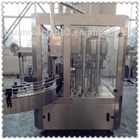 auto juice processing and filling packing machine for glass bottles