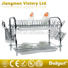 2 Tiers Wholesale Kitchen Cabinets Organizer Dish Rack