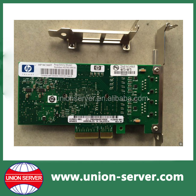 412648-B21 NC360T PCI Express Dual Port Gigabit Network Adapter