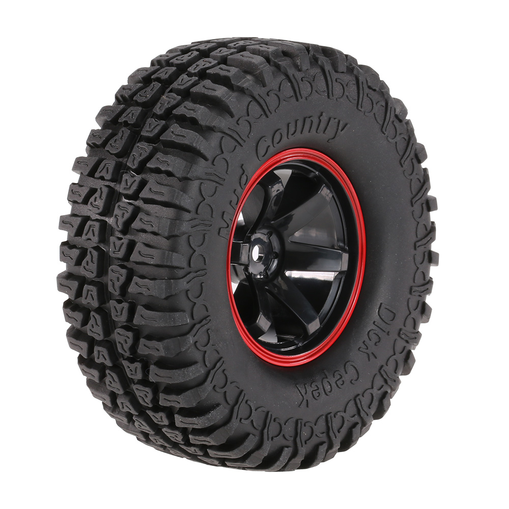 4Pcs AUSTAR AX-3020C <strong>1</strong>.9 Inch 103mm <strong>1</strong>/<strong>10</strong> Scale Tires with Wheel Rim for <strong>1</strong>/<strong>10</strong> D90 SCX10 CC01 RC Rock Crawler