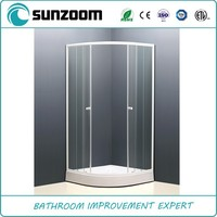 SUNZOOM hot sell shower cabin accessories,glass shower screen,bath shower screen