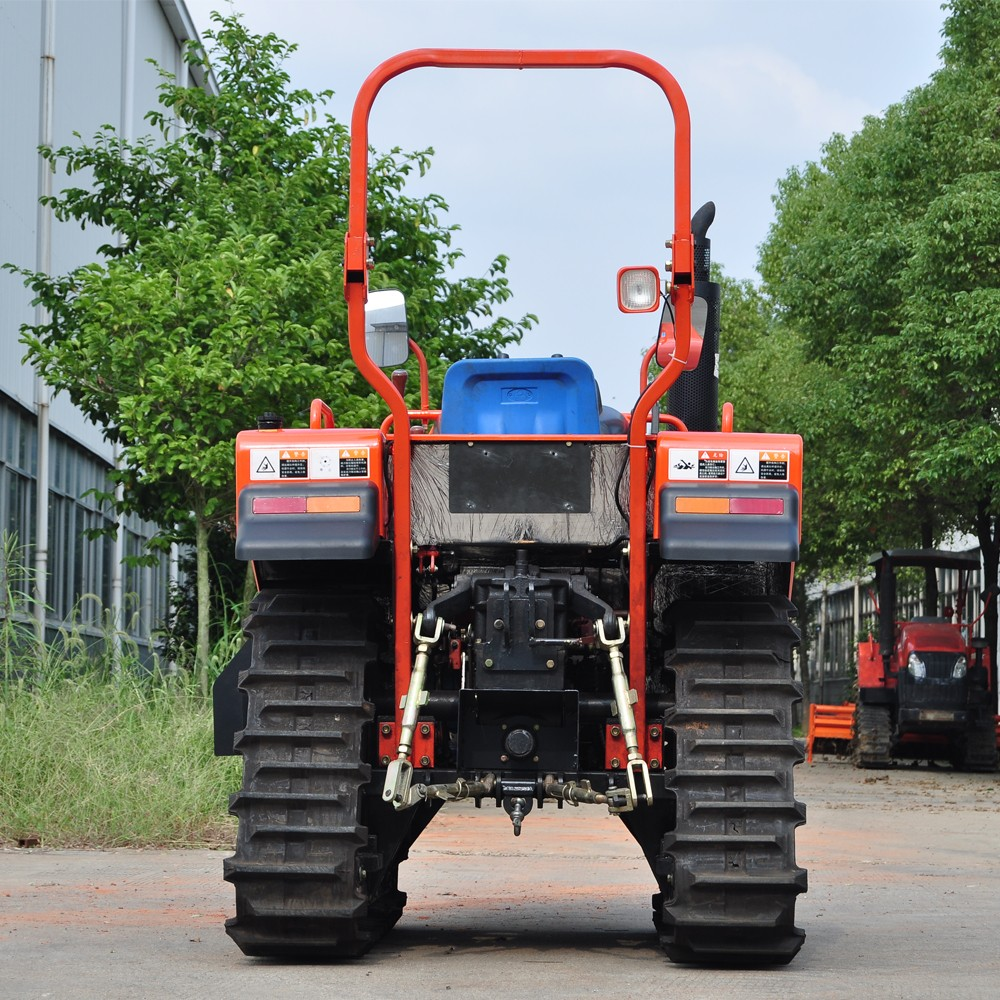 Agriculture machine mini crawler tractors loaders