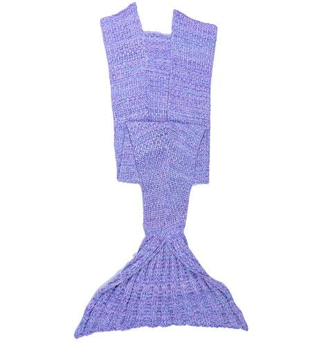 2016 New Arrival Personality wave mermaid tail blanket