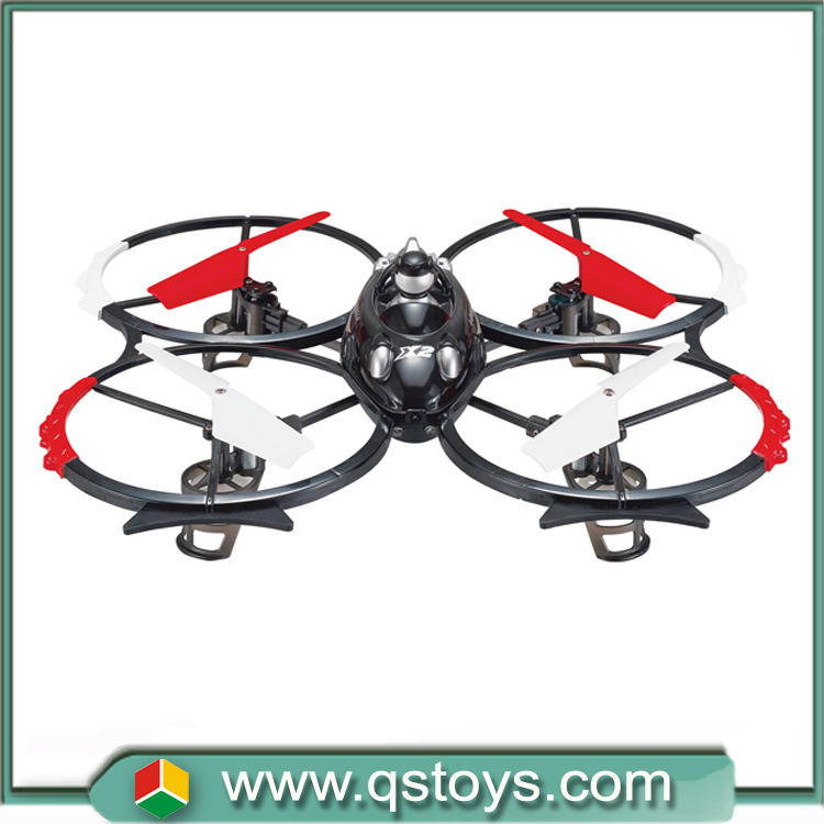 Shantou new 2.4G remote control helicopter 4 channel rc quadcopter with camera in market