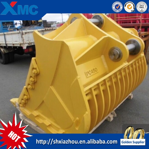 china supplier excavator rotating bucket for sale