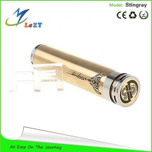 Worldwide Hot Selling Luxury Gold Color SS Stingray Mod,Stingray ModWith Laser Graved totem mech mod in stock now