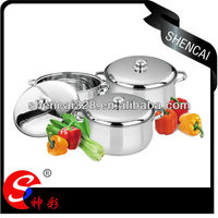 Super Capsule Bottom Stainless Steel Cookware / Belly Pot / Stock Pot