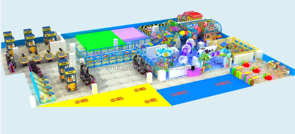 2016 New Most Hot Sale Pirate Ship Theme Kids Indoor Playground for sale with High Quality