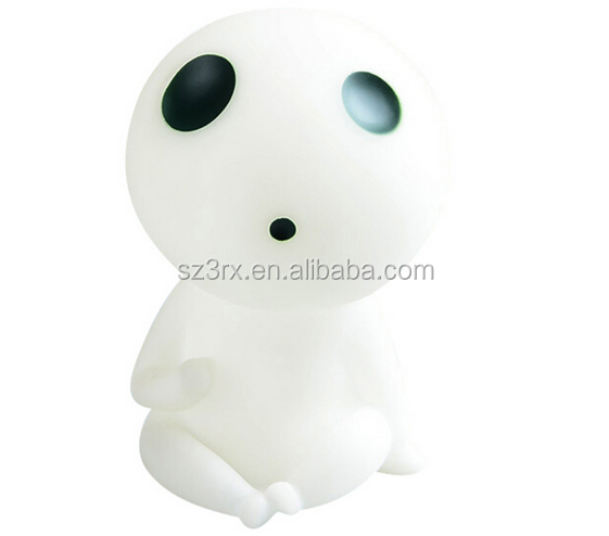 Customized PVC Cartoon Baby Shape Light-up Toys , Design Blank Plastic Vinyl Toy, High Quality vinyl figure toys seller