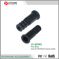LY-QT001 RG59/6 Coaxial cable PVC Boot