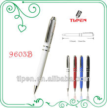 white promotion pen with customer's logo 9603B