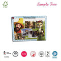 Child Cartoon Jigsaw Puzzle Frame Toy
