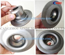 stamped punching roller housing for belt conveyor