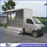 Practical Driving Automobile based Mobile fruit cart JX-FV260