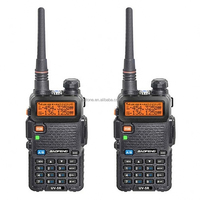 Best Selling Amateur Baofeng Walkie Talkie UV-5R Dual Band Two Way Radio Ham Radio VHF/UHF Mobile Transceiver 20km range