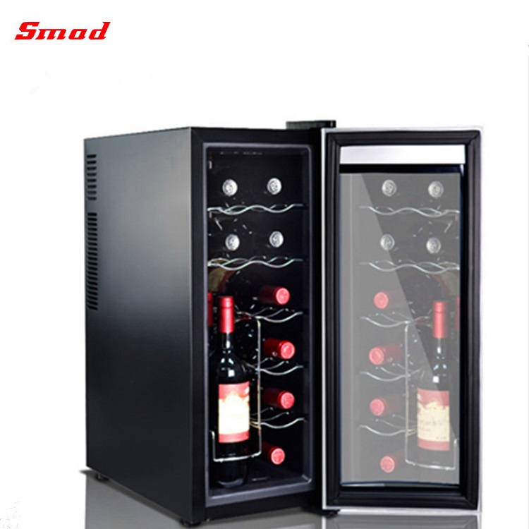 35L Upright Single Door Thermoelectric Wine Cellar for Home and Hotel