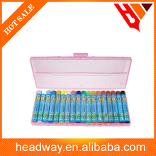 High quality 24pcs Oil pastel in the plastic box