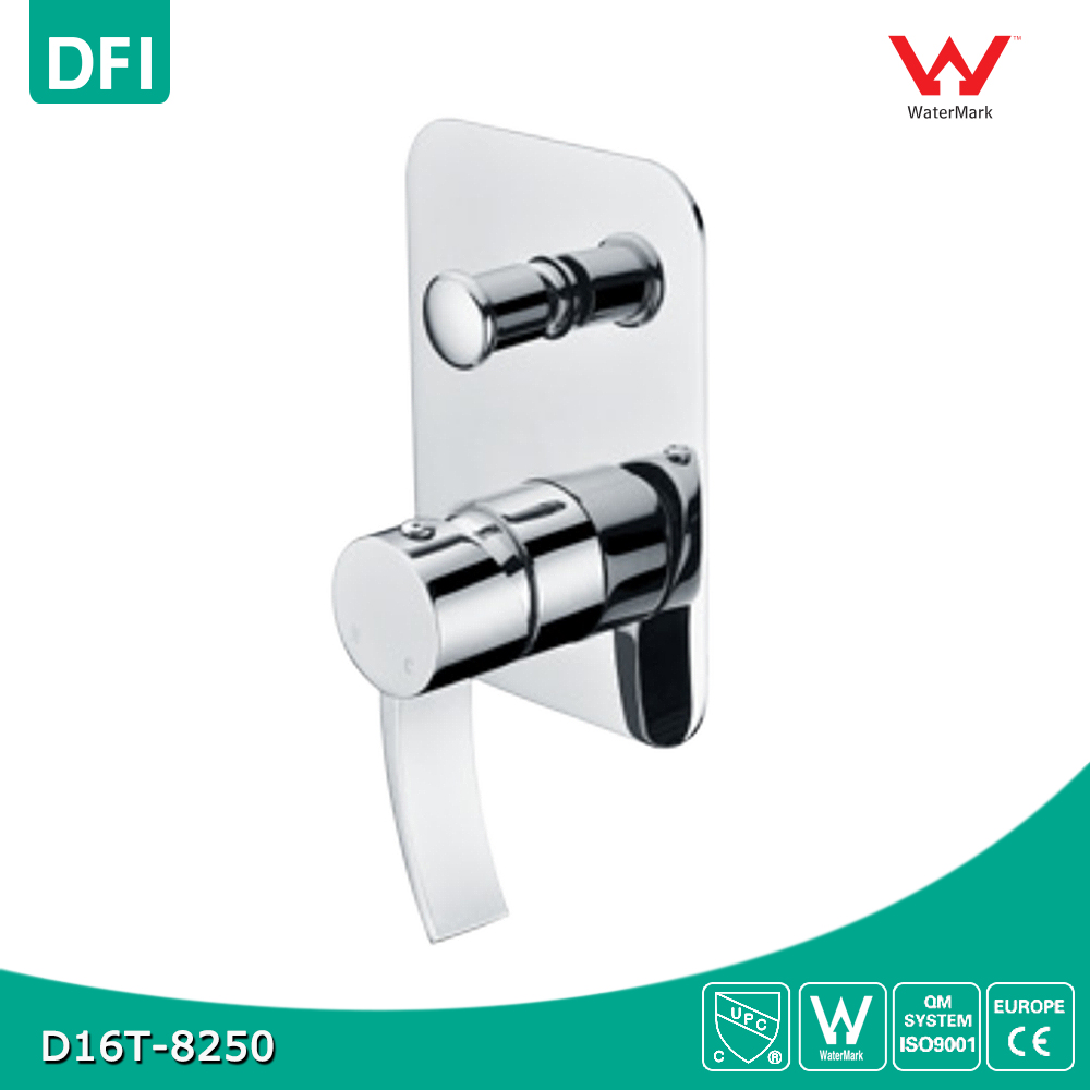 New Shower Mixer Faucet Control Valve With Diverter In Wall Mounted Single Lever
