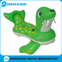 2016 Most Popular PVC Plastic Inflatable Animal Rider/pool float/inflatable float