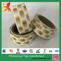 XJ-Washi Paper masking paper rolls decoration glitter tape