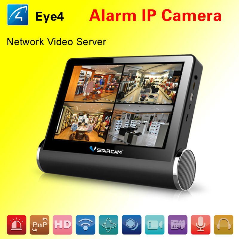 network video server with HDMI interface 2 way audio wireless digital ip camera