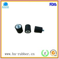 shock resistance metal backed rubber