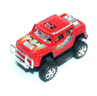 Classic Jeep Red New Design Plastic Toy Car