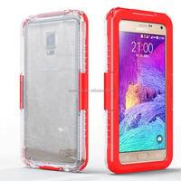 pu leather protective phone case for Samsung Note 4 N910 phablet