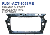 auto parts apply for hyundai accent bule 11 radiator support middle east type OEM 64101-1R000