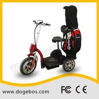 Ml-302 golf customized lead/lithium 200cc adult three wheel scooter with detached seat