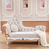 FOSHAN WHITE ROYAL PU LEATHER EUROPEAN STYLE WEDDING SOFA