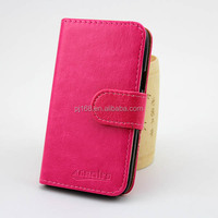 factory price phone cases wallet leather cover case for K-TOUCH nibiru H1