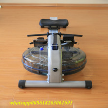 Factory directly sale spinning bike for gym Cardio fitness equipment Water Rowing Machine JG-1268
