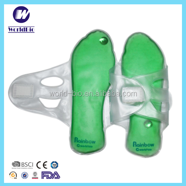 Comfortable Liquid Gel Shoe Insole For Hot Cold