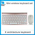 Ultra-thin 2.4Ghz wireless keyboard and mouse combo for PC