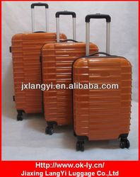 Carry on hardside ABS PC spinner luggage