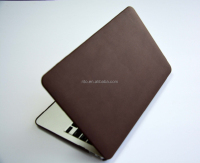 "Fashion PU Leather Protecter Sleeve Case for Macbook Pro/Air/Retina (Macbook Pro 13"" with Retina Display, brown)"