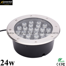 Colors Outdoor Decoration 24w Mounted Inground Buried Led Floor Light