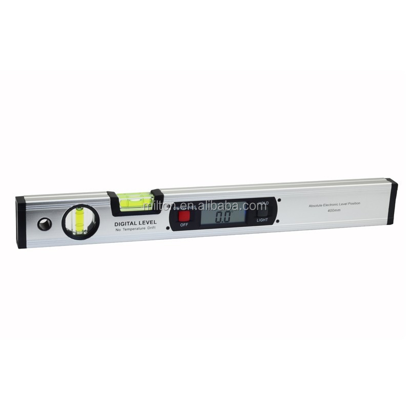 400mm 16inch Digital Level 360 Degree Range Angle Finder Spirit Level Upright 4 Magnets Inclinometer