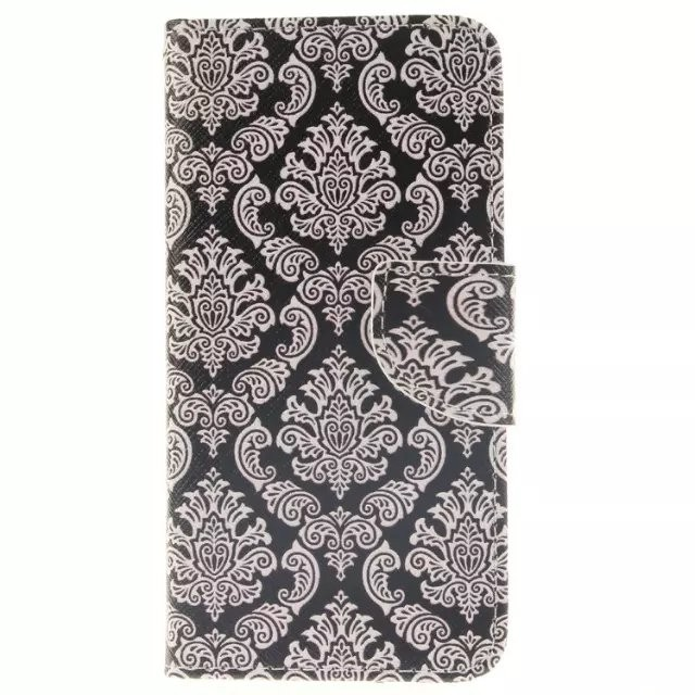 phone case, pattern painted animal flower pu leather flip case for iphone 6s 6s plus with card holder
