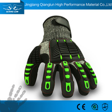 Custom TPR full finger oil resistant work gloves