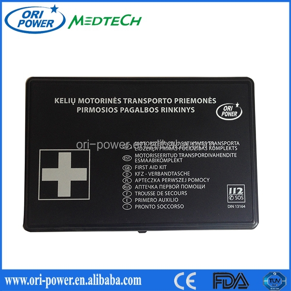 CE FDA ISO approved OP wholesale manufacture car roadside emergency kit