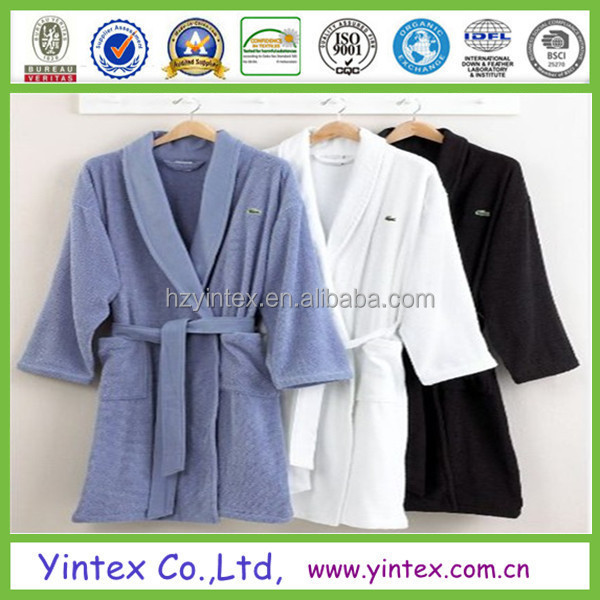 Shawl Collar Men And Woman Wholesale Heated Bathrobe