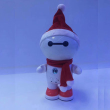 Outdoor small cartoon small snowman BT speaker with small sucker portable stereo BT speaker