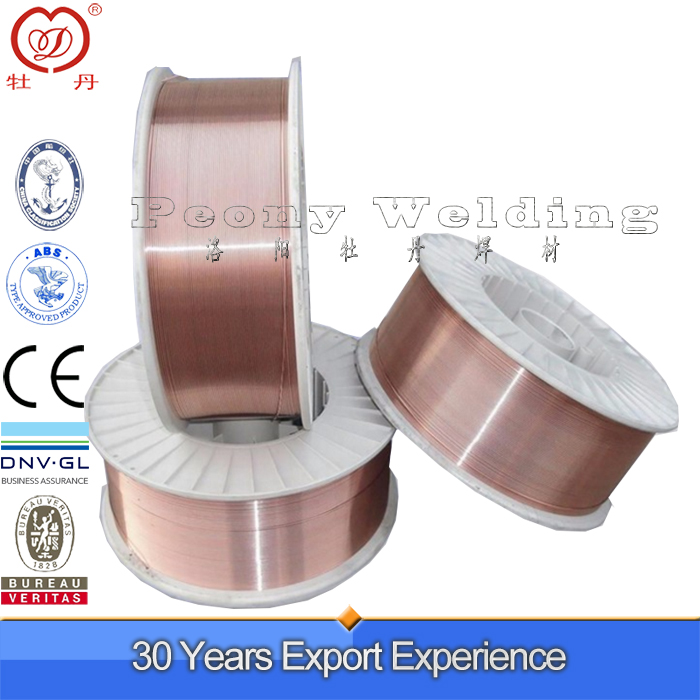 CO2 Material Welding Wire ER70S-6 Mig Welding Wire